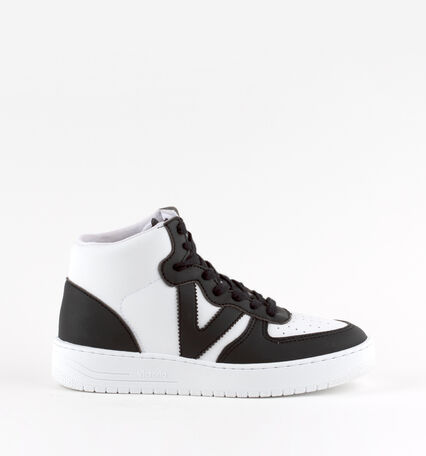 SIEMPRE SYNTHETIC EFFECT LEATHER TRAINER